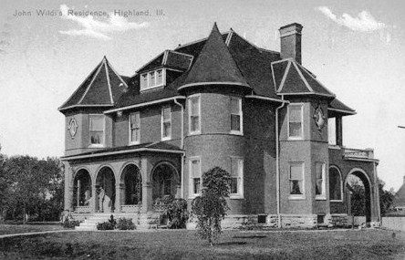 John C. Wildi home 1908 - Masonic Temple